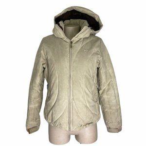 BURTON Suede Ski/Snow Winter Jacket Down Filled S